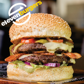 Eleven Burgers